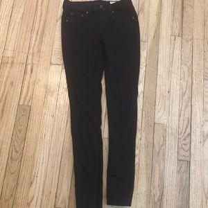 Rag & Bone the legging jeans black 27